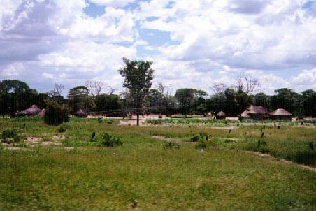 Village in Caprivi Strip