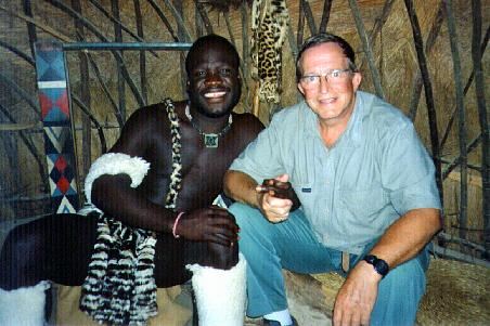 Zulu chief and I