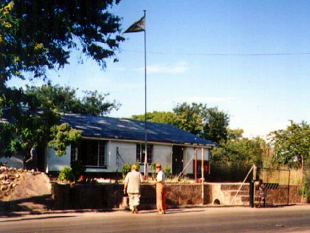 Zimbabwe border post