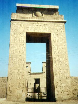 South gate of Karnak Temple