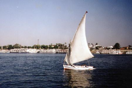 Feluca on the Nile