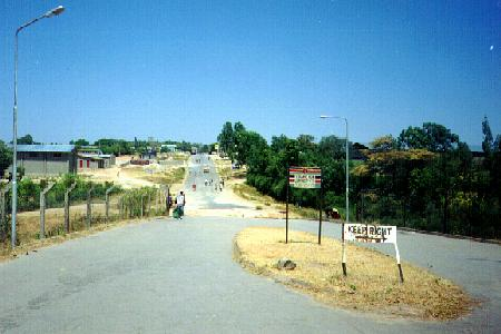 Ethiopian border at Moyale