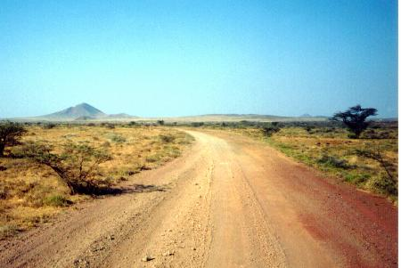 Desert near Marsabit