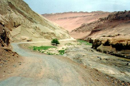 Road to Bezeklik Caves