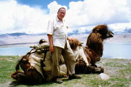 Tourist with camel