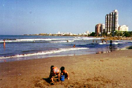 Bocagrande beach