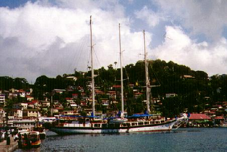 Three masted schooner