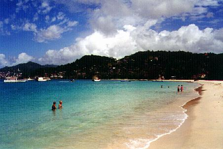 Grande Anse Bay beach