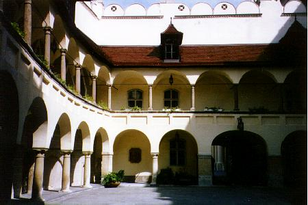 Courtyard of the Old Town Hall