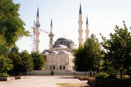 Turkish style mosque