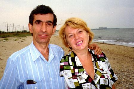 Levon Hatchikian and his wife Lilia